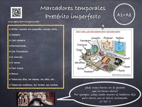 Imperfecto-marcadores
