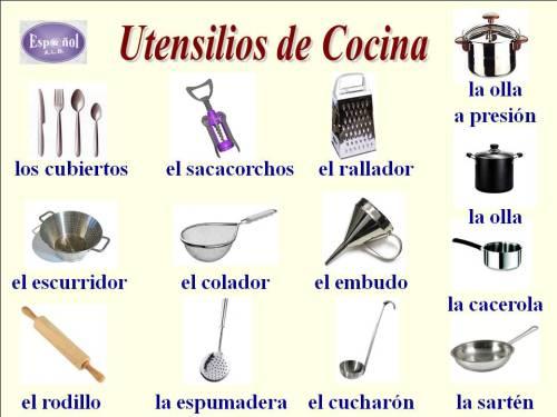 utensilios