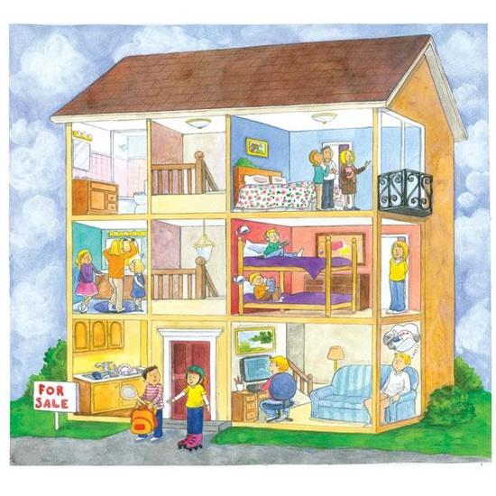 La vivienda busco piso en alquiler espa ol para - La casa de las estanterias ...