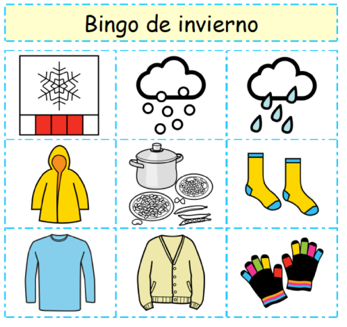 bingo de invierno