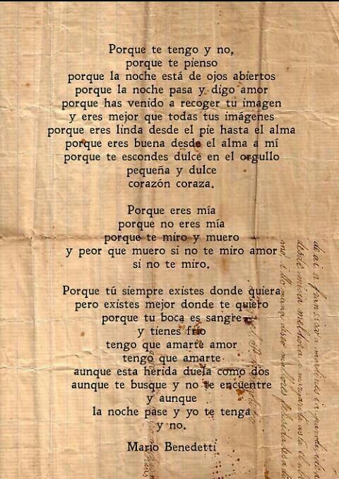 poema benedetti
