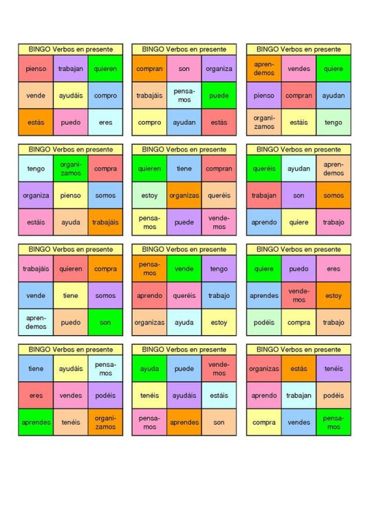 bingo presente
